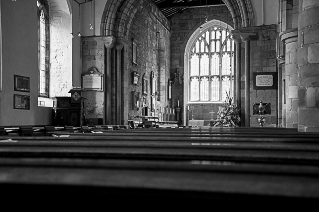 View into the nave